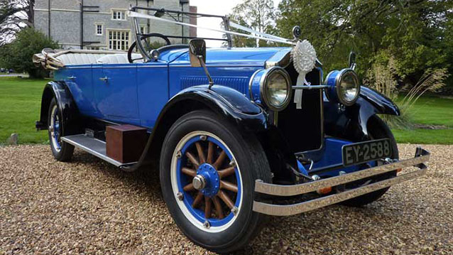 Buick Convertible wedding car for hire in Bridgwater, Somerset