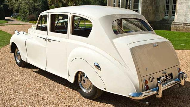 Austin Vanden-Plas Princess Limousine wedding car for hire in Cadnam, Hampshire