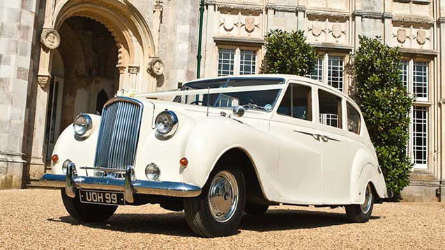 Austin Vanden-Plas Princess Limousine wedding car for hire in Cadnam, Hampshire