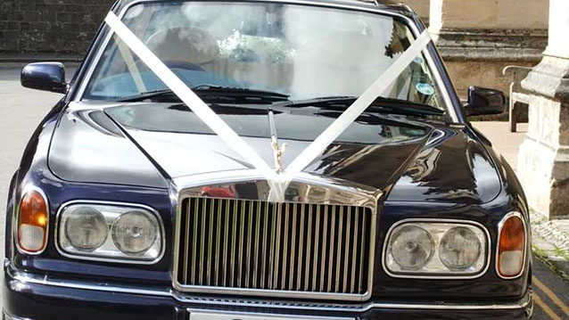 Rolls-Royce Silver Seraph wedding car for hire in Winchester, Hampshire