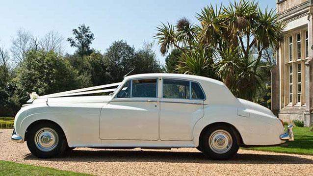 Rolls-Royce Silver Cloud I wedding car for hire in Cadnam, Hampshire