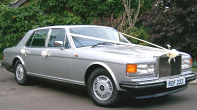 Rolls-Royce Silver Spirit wedding car for hire in Cadnam, Hampshire