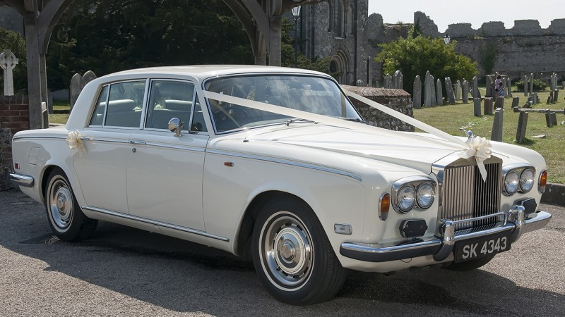 Rolls-Royce Silver Shadow I wedding car for hire in Portsmouth, Hampshire