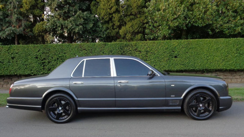 Bentley Arnage 'Mulliner' wedding car for hire in Poole, Dorset