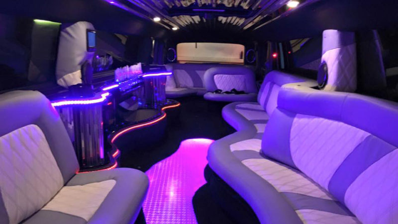 Hummer USA 40ft Limousine wedding car for hire in Portsmouth, Hampshire