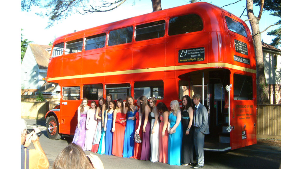 Hire our vintage buses for your wedding