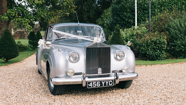 Rolls-Royce Silver Cloud I wedding car for hire in Southampton, Hampshire