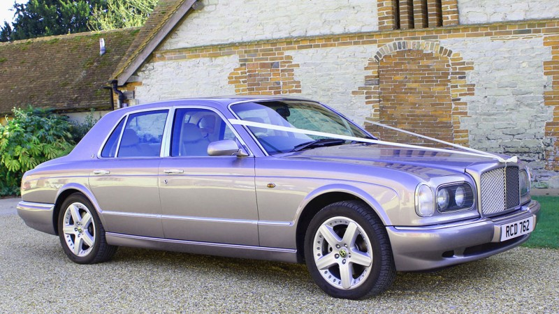 Bentley Arnage wedding car for hire in Havant, Hampshire