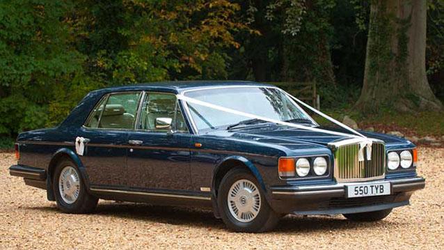 Bentley Eight wedding car for hire in Bridgwater, Somerset