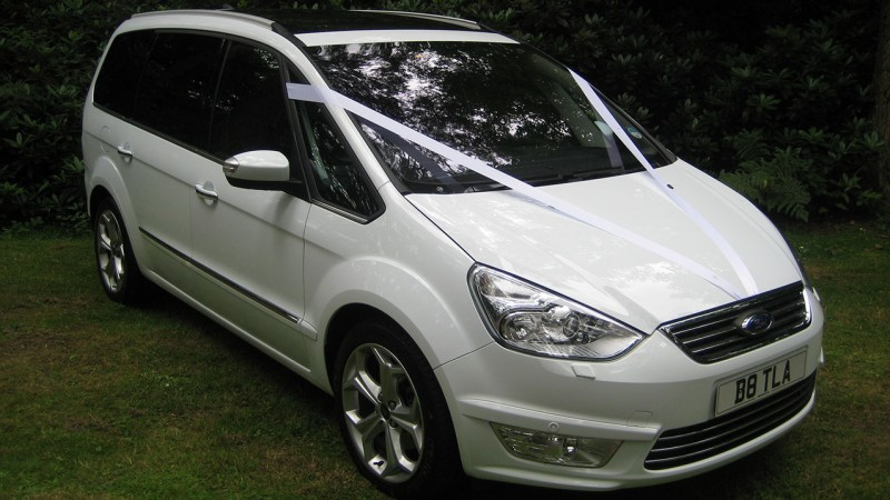 Ford Galaxy wedding car for hire in Romsey, Hampshire