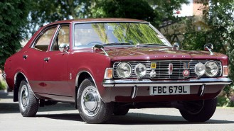 Ford Cortina XL wedding car for hire in Ferndown, Dorset