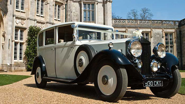A Pair of Rolls-Royce 20/25 Limousines wedding car for hire in Cadnam, Hampshire