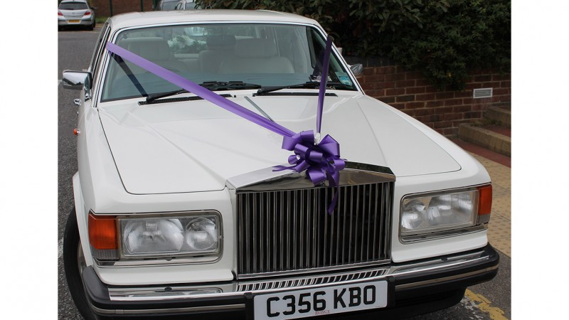 Rolls-Royce Silver Spirit wedding car for hire in Maidstone, Kent