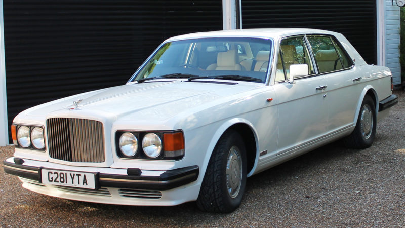 Bentley Turbo 'R' wedding car for hire in Maidstone, Kent