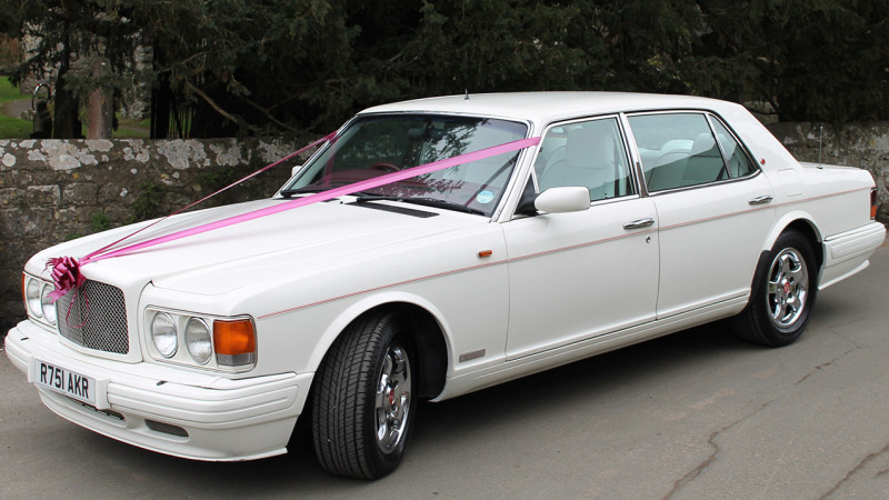 Bentley 'RT' Turbo LWB wedding car for hire in Maidstone, Kent