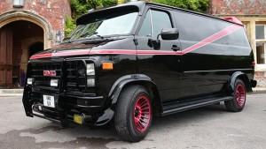 Treat the Groom to A Team Van