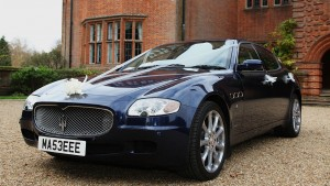 Treat the Groom to a Sports Car with this Maserati Quattroporte in Hampshire