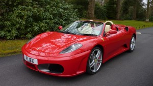 Treat the Groom to a Sports Car with This Ferrari F430 in Hampshire