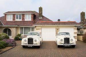 Pair Rolls-Royce Wedding Car Hire Dorset