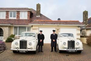 Pair of Rolls-Royce Wedding Cars Dorset