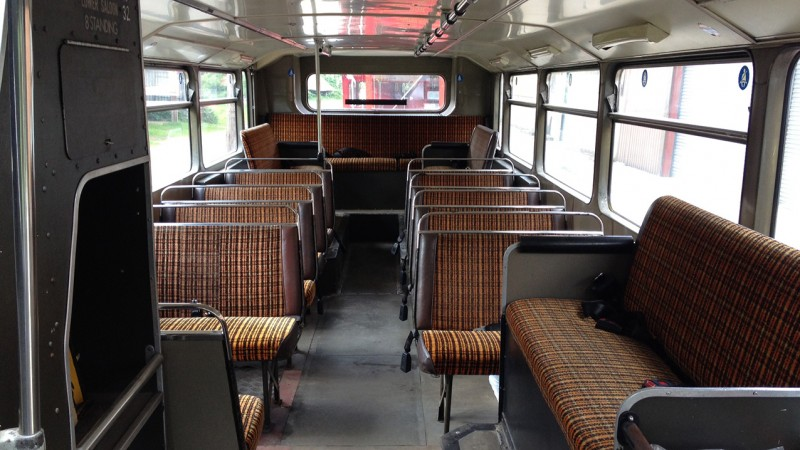 Olympian Open Top Bus wedding car for hire in Bournemouth, Dorset