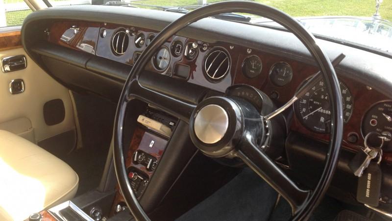 Rolls-Royce Silver Shadow I wedding car for hire in Sutton, Surrey