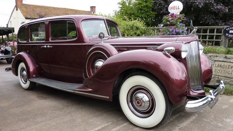 Packard Limousine Wedding Car Hire Bridgwater, Somerset