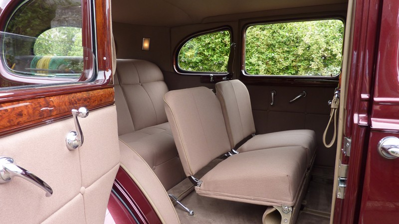 Packard Limousine wedding car for hire in Bridgwater, Somerset