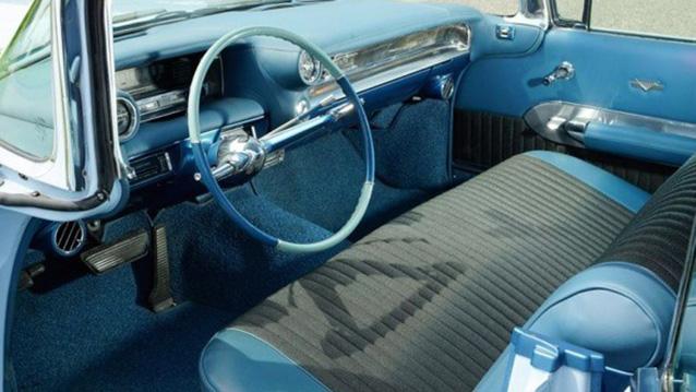 Cadillac Sedan de Ville wedding car for hire in Wellington, Somerset