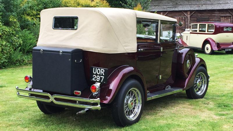 Regent Landaulette wedding car for hire in Ringwood, Hampshire