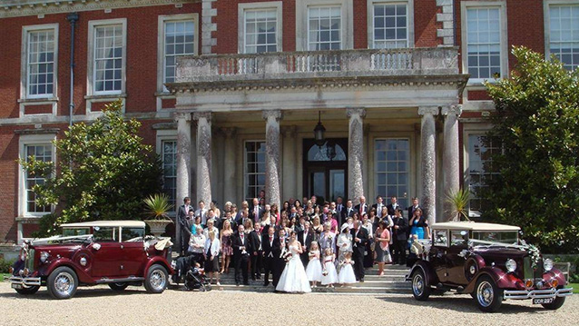 A Pair of Vintage Style Regent Landaulette's wedding car for hire in Ringwood, Hampshire