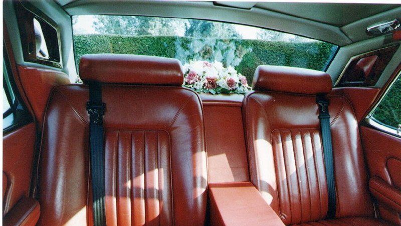 Rolls-Royce Silver Spirit wedding car for hire in Lewes, East Sussex