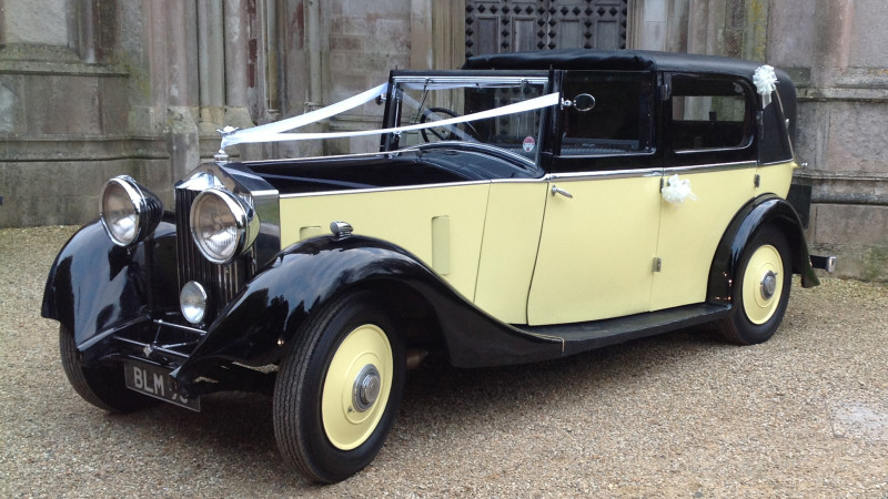 Vintage Rolls Royce Wedding Hire 10
