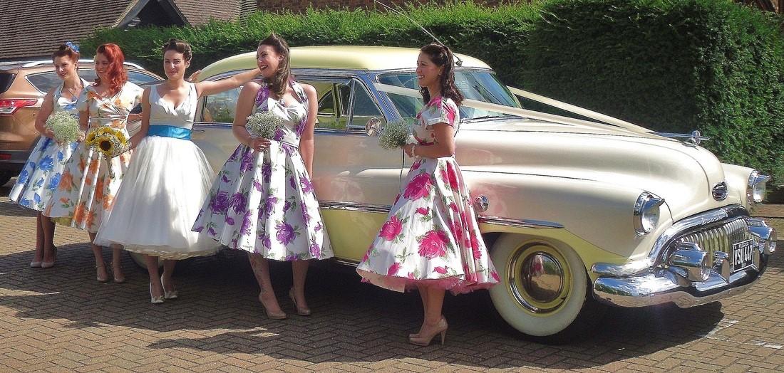 Wedding car decoration ideas premier carriage american car wedding decoration ideas kent junglespirit Images