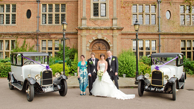 Pair Of Vintage Wedding Cars Milton Keynes Buckinghamshire