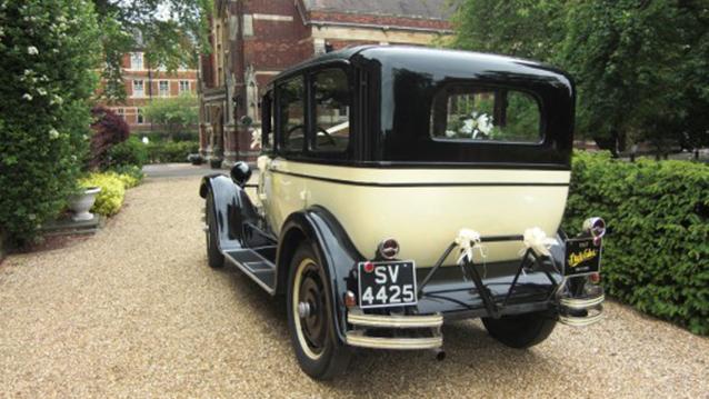 Studebaker Saloon wedding car for hire in Barnet, London