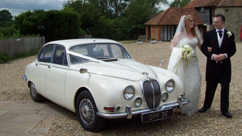 classic jaguar 39 inspector morse 39 wedding car hire. Black Bedroom Furniture Sets. Home Design Ideas
