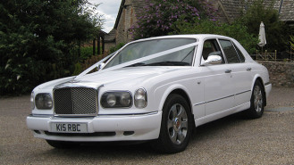 Bentley Arnage wedding car for hire in Chilton, Oxfordshire