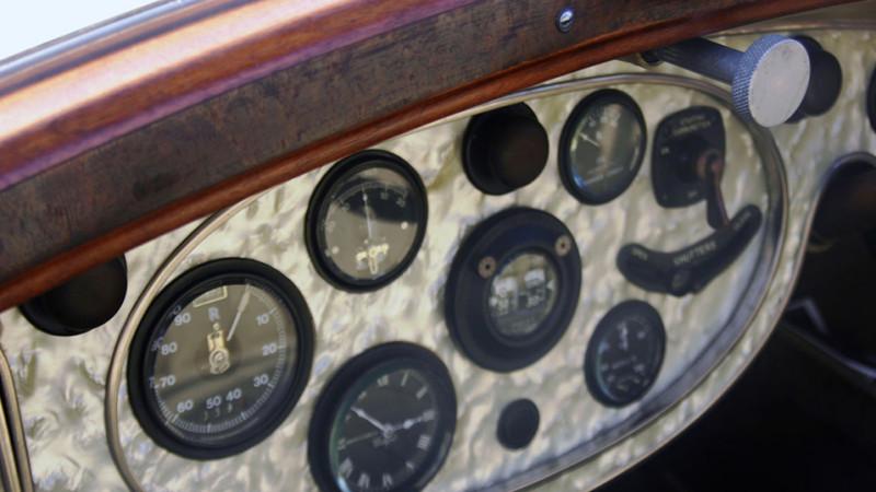Rolls-Royce Phantom I Sedanca wedding car for hire in Cobham, West London
