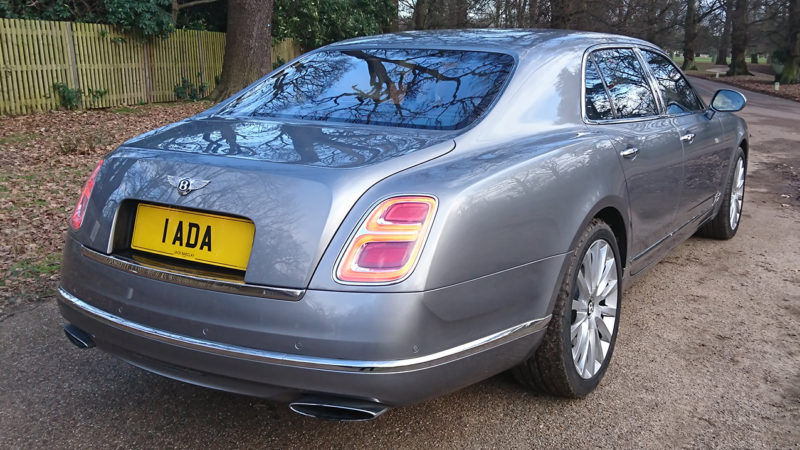 Bentley Mulsanne LWB wedding car for hire in Cobham, West London