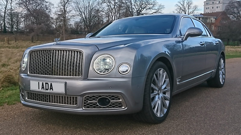 Bentley Mulsanne LWB wedding car for hire in Richmond, West London