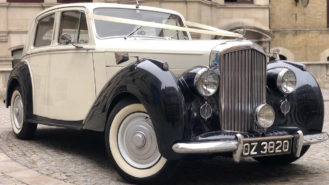Bentley Mark VI wedding car for hire in London