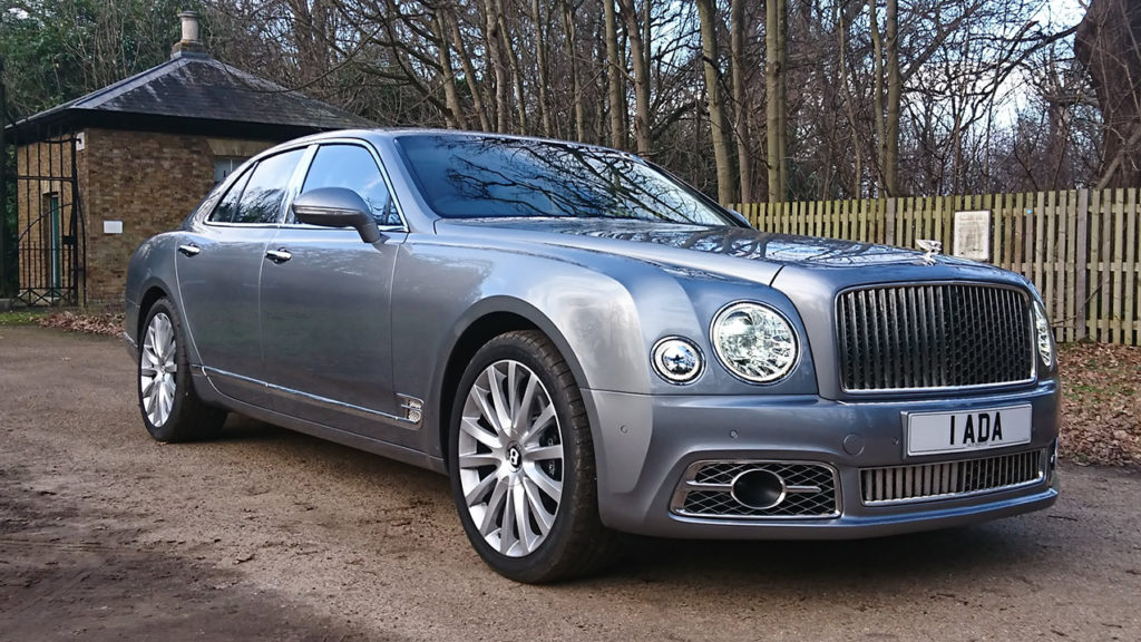 Luxurious Bentley Mulsanne Chauffeur Driven Vehicle