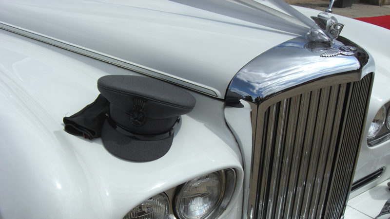 Bentley S3 wedding car for hire in East London