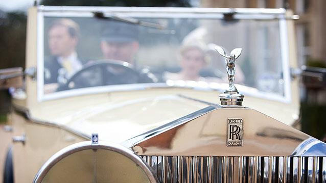 Rolls-Royce 20/25 Convertible wedding car for hire in Hatfield, Hertfordshire