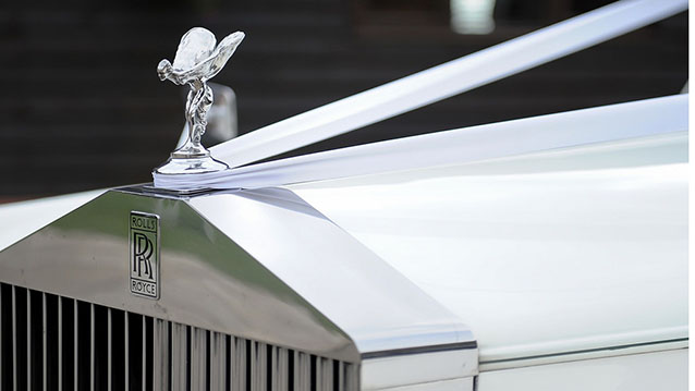 Rolls-Royce Silver Cloud II wedding car for hire in Hatfield, Hertfordshire
