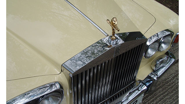 Rolls-Royce Silver Shadow I wedding car for hire in Hatfield, Hertfordshire
