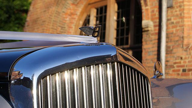 Bentley S I wedding car for hire in Hatfield, Hertfordshire