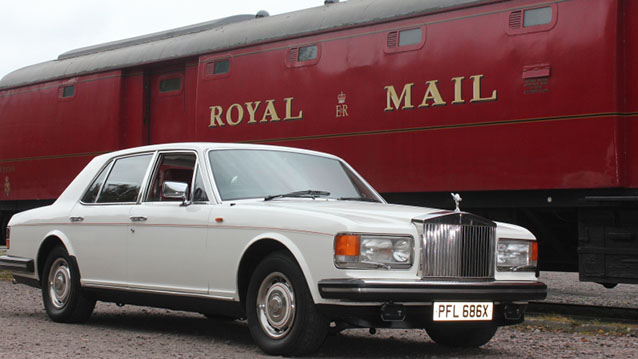 Rolls-Royce Silver Spirit wedding car for hire in Leicester, Leicestershire