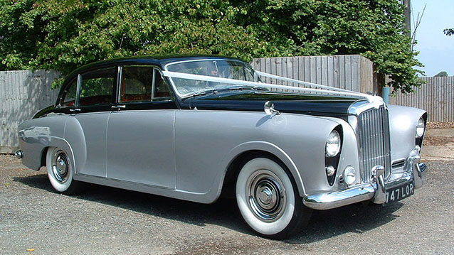 Bentley S I wedding car for hire in Hatfield, Hertfordshire